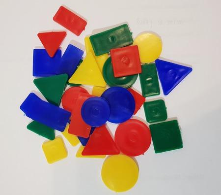Aktivnost za učenje oblika i boja