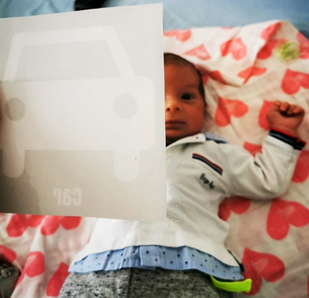 Aktivnost za novorođenče- kontrastne kartice