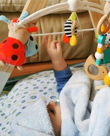 Razvoj hvatanja predmeta kod beba